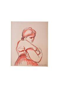 Pier-Claudio-Pantieri-ritratto-di-donna-disegno-originale