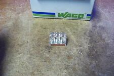 NOS Wago 773-173 3X 10AWG Max, CU, 3 Port Push-In Wire Connector