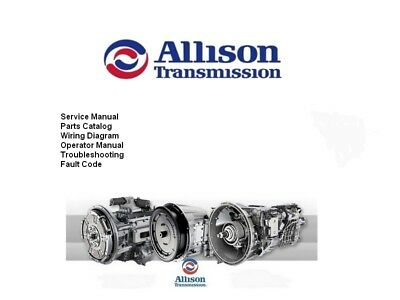 Allison Transmission Manual ALL Series All Generation 2018