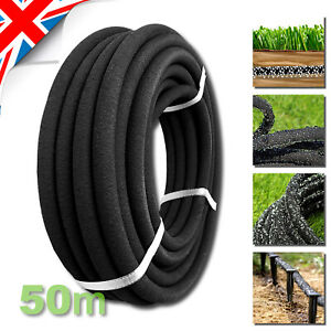 50m - POROUS PIPE, Soaker Hose, Leaky Pipe Garden Irrigation System Thick Wallet