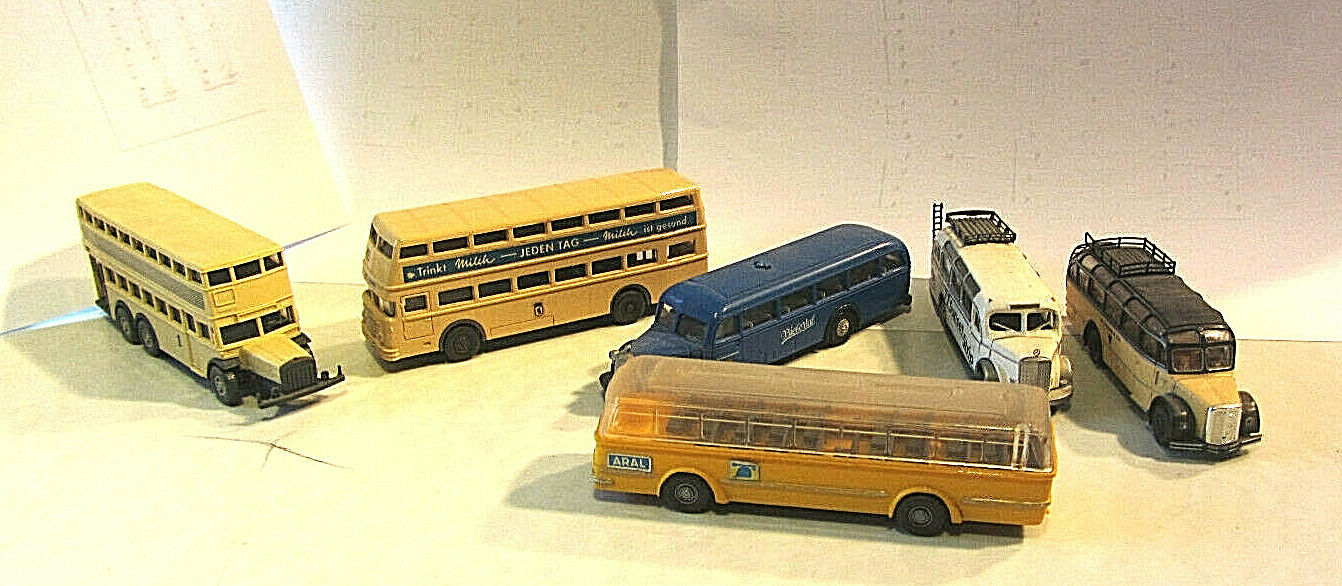 Wiking Herpa BUSES COLLECTION 1; 87