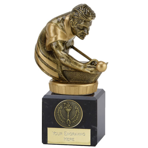 Classic Flexx Pool//snooker trophy with FREE Engraving up to 30 Letters