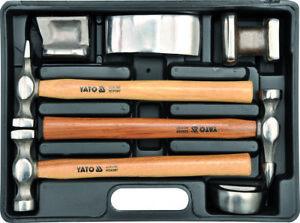 ausbeulwerkzeug satz ausbeul hammer set werkzeug kfz auto. Black Bedroom Furniture Sets. Home Design Ideas