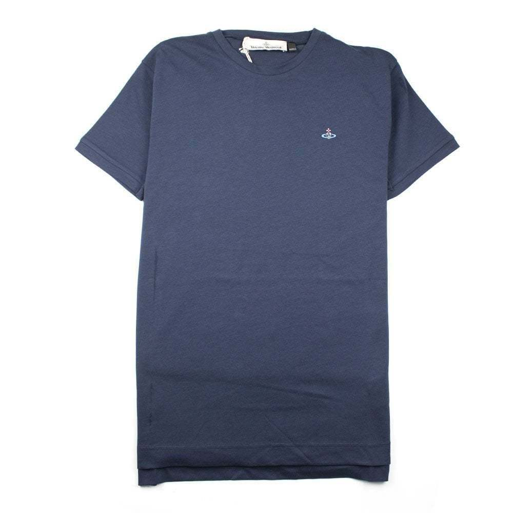 Vivienne Westwood Small Orb Logo T-shirt Navy
