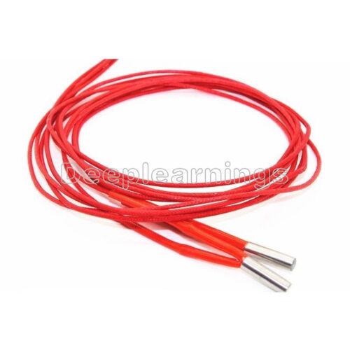 Reprap 12v 30W Ceramic Cartridge Wire Heater For Arduino 3D Printer Prusa Mendel