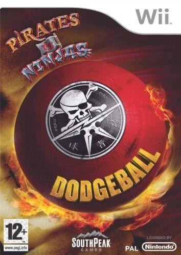 Pirates VS Ninjas DODGEBALL Nintendo Wii Console Game Robots Zombies Aliens Mush