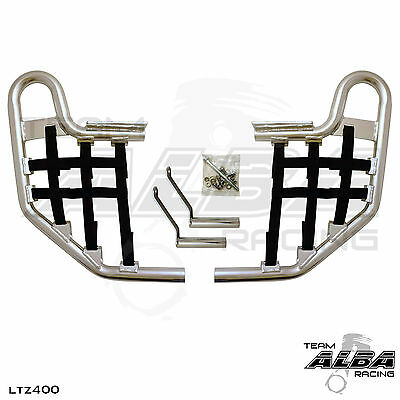 LTZ 400 DVX 400 KFX 400 Nerf Bar Nets  Alba Tusk Red  A