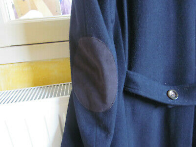 Manteau Veste Caban long bleu marrine homme M Devred