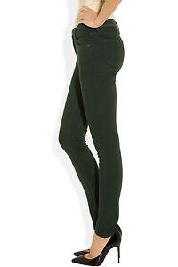 10 8 Jeans e stretti verde W27 Uk foresta rugosi 8xq4SRnHw