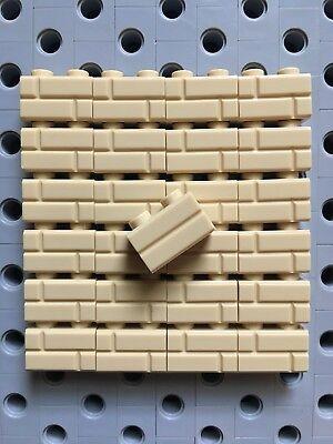 adiacenti MODIFICATO 1x1 con borchie su 2 lati 10 parti 26604 LEGO Tan Brick