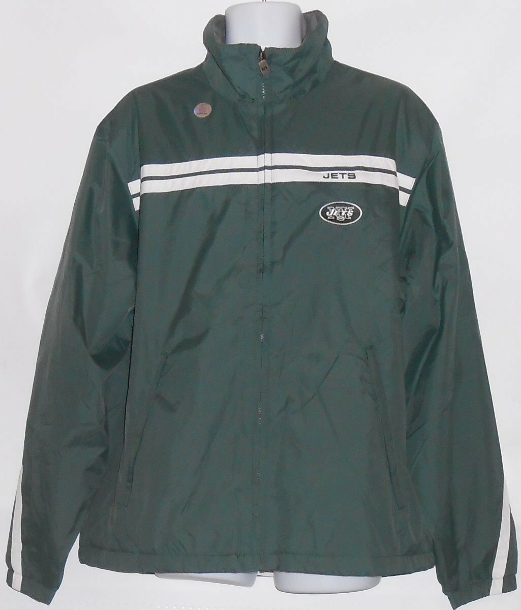 NFL auténtico para hombre  New York Jets Forrado Cremallera Frontal Chaqueta verde XL nuevo con etiquetas  comprar marca
