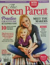 The Green Parent April May 2015 Practice Gratitude Raising Kids FREE SHIPPING sb
