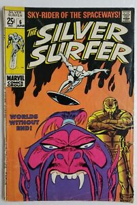 SILVER-SURFER-6-1968-VOL-1-1ST-APP-OVERLORD-SILVER-AGE-MARVEL-FANTASTIC-FOUR