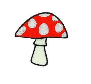 Patch-embroidered-iron-on-cloth-badges-kawaii-biker-mushroom-applique