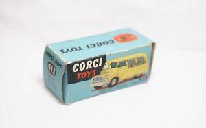 CORGI 412 BEDFORD utilecon Ambulanza VUOTA SCATOLA ORIGINALE-VINTAGE 1960s
