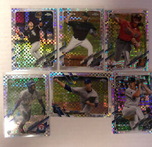 2021 Topps chrome MLB large Rookie Lot(26) W/ 6 X Fractors Parallel RC 🔥