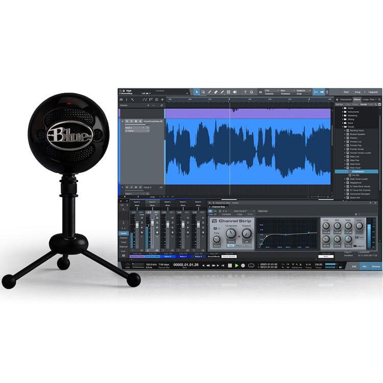 Blau Microphones Snowball Studio USB Mic and Software Bundle BRAND NEW