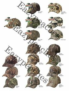 HUNTING-CAMO-LICENSED-ADJUSTABLE-Back-Camo-Cap-Kati-Camouflage-Baseball-Hat