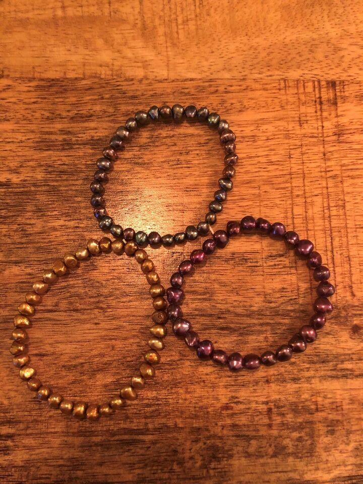 Armbånd, perler, Vintage