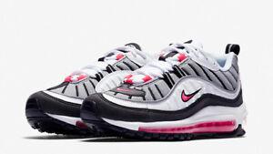 Da-Donna-Nike-Air-Max-98-UK-6-US-8-5-EUR-40-GRIGIO-BIANCO-NERO-AH6799-104