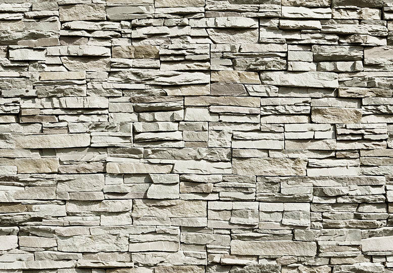 366x254cm wallpaper for bedroom wall mural Grey stones