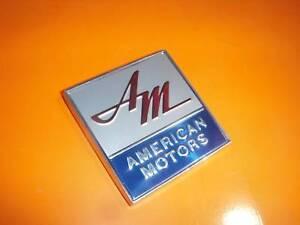 AMC-New-emblem-AMX-Javelin-Marlin-Rebel-Ambassador-SST-Ambassador-Rambler