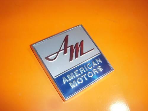 AMC New emblem AMX Javelin Marlin Rebel Ambassador SST Ambassador Rambler