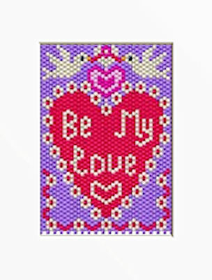 WELCOME TO MY PAD PONY BEAD BANNER PDF PATTERN ONLY
