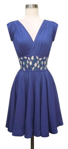 Trashy Diva 2 Sandy Mini Dress Daisy Embroidery Na