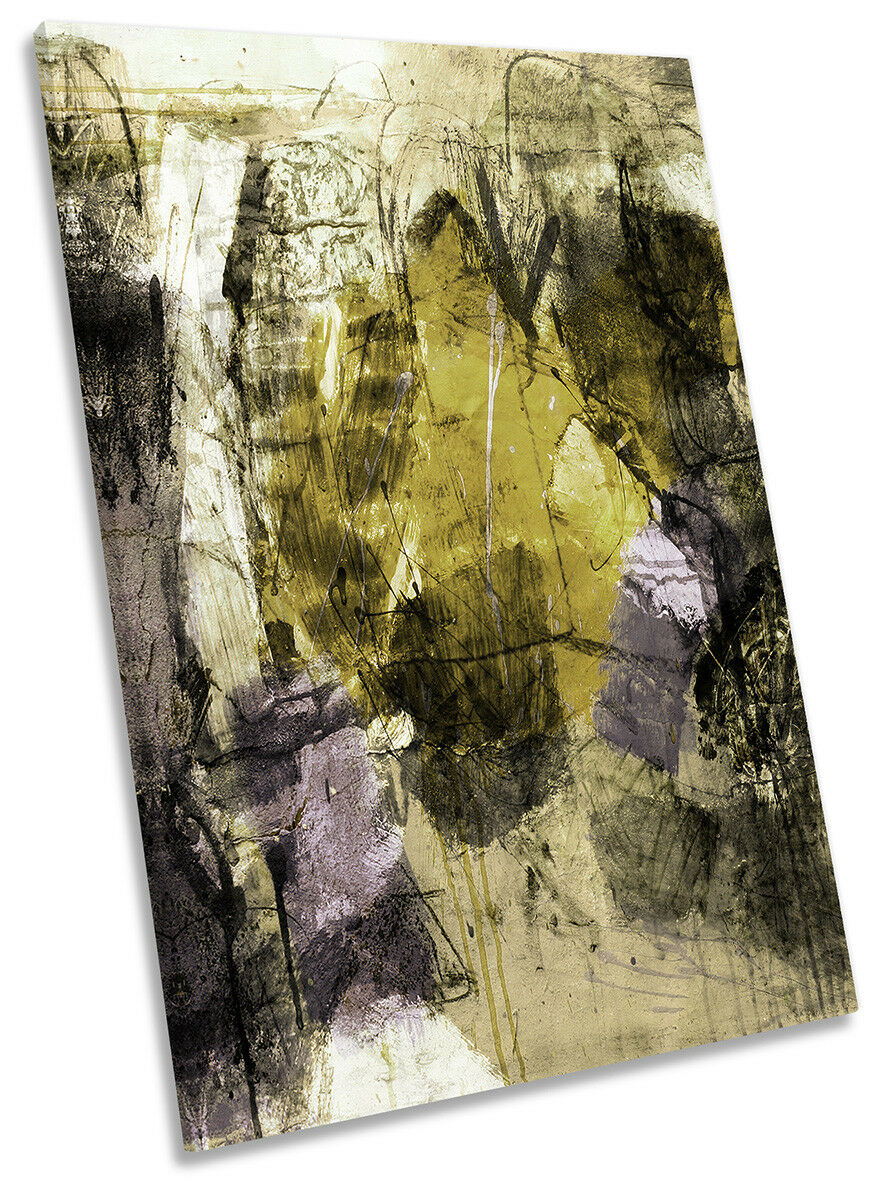 Abstract Grunge Dreamy CANVAS CANVAS CANVAS WALL ARTWORK Portrait Print Art 9c2cf3