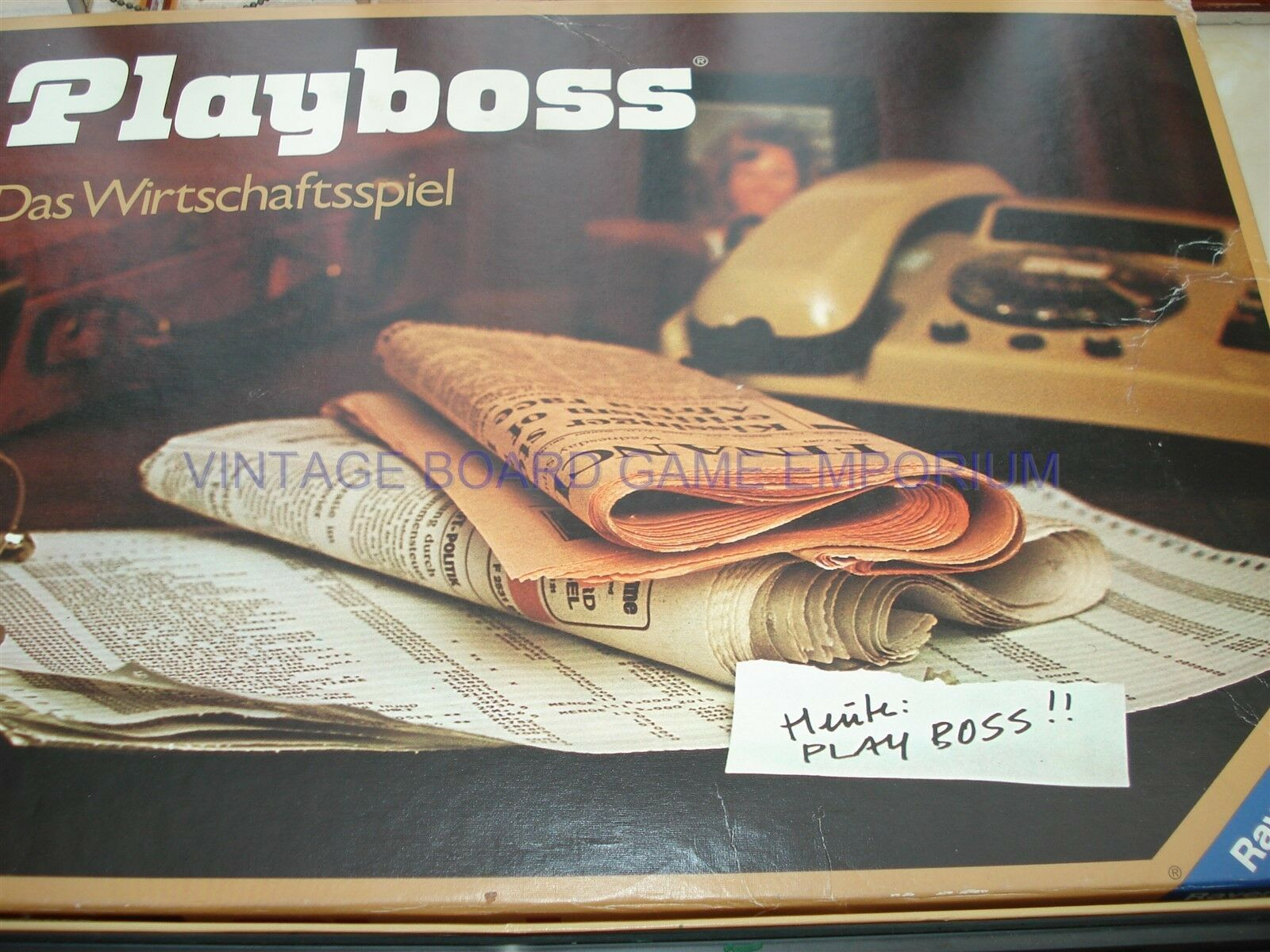 Playboss spiel - playboss - ravensburger - 100% - boss spiel - deutsche spiel spielen.