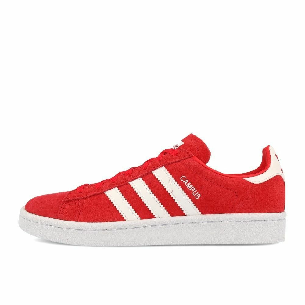 Neuf Adidas Campus W Suede DB1018 rayRouge Blanc Baskets DB1018 Suede UK Taille 4.5 2aaa4d
