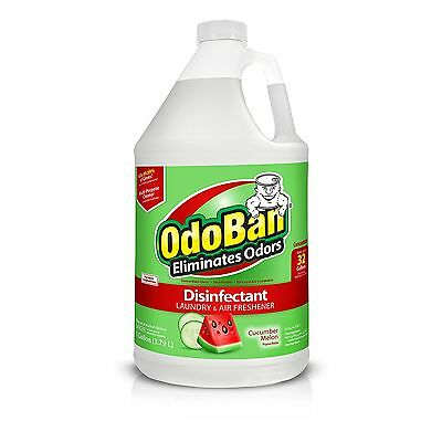 OdoBan Cucumber Melon Odor Eliminator Disinfectant Concentrate - Makes 32 Gallon