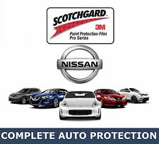 NISSAN Vehicles HOOD KIT Precut Clear 3M Paint Protection Bra Film