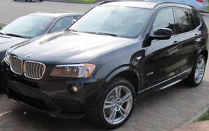 BMW X3 xDrive35i M 2011, 300HP, M pkg, tech pkg et +