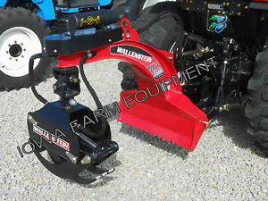 039-RED-039-Wallenstein-LX5100-Tractor-3-Point-Bypass-Log-Grapple