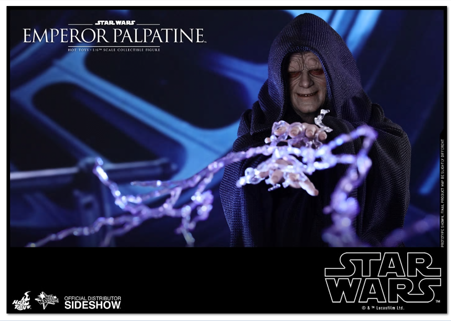 1/6 Scale Star Wars Emperor Palpatine MMS Hot Toys 903374