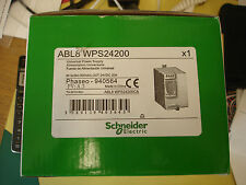 Schneider Universal Power Supply ABL8WPS24200 New IN 3 x380-500VAC out 24VDC20A