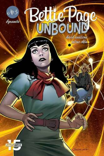 RELEASE DATE 16//10//19 BETTIE PAGE UNBOUND #5 COVER D OHTA DYNAMITE