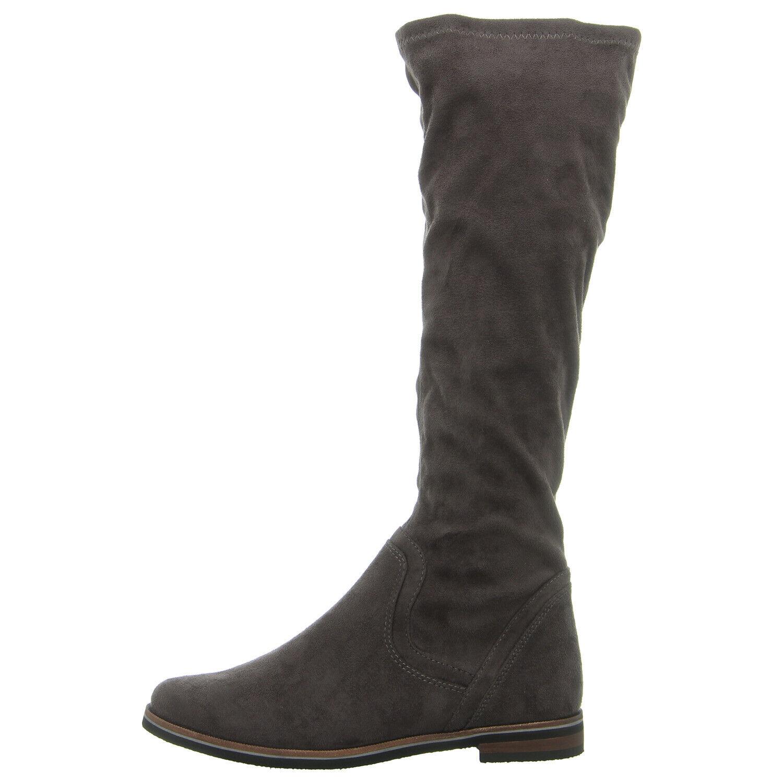 CAPRICE Schuhe Stiefel 9-9-25507-21-250 dk grau stretch (grau) NEU