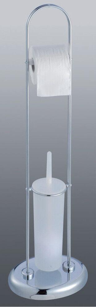 Lampe sur Pied Xl706 Porte-Rouleau et Porte-Brosse de Toilette Compléments