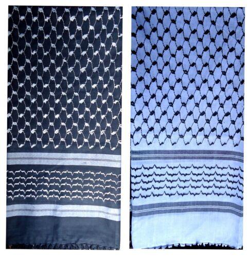 Shemagh Yashmagh Keffiyeh Muslim Arafat Desert Tactical Fashion Scarf Cotton//pol