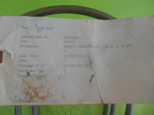 Part Number J2807HS Details about  /Johnson Joint Spring/< item Number 16343394