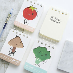 034-Eat-Me-034-Mini-Diary-Pocket-Notebook-Hand-Memo-Pad-Study-Journal-Coil-Spiral