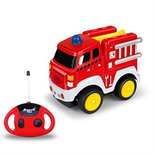 ordenar ahora Remote Control Fire Truck Truck Truck W Sounds Vehicle Toy Christmas Gift For Kids Toddlers  nuevo sádico