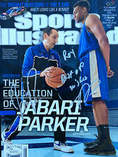 Jabari Parker Signed ( February 24th 2014 ) Sports Illustrated SI Magazine JSA
