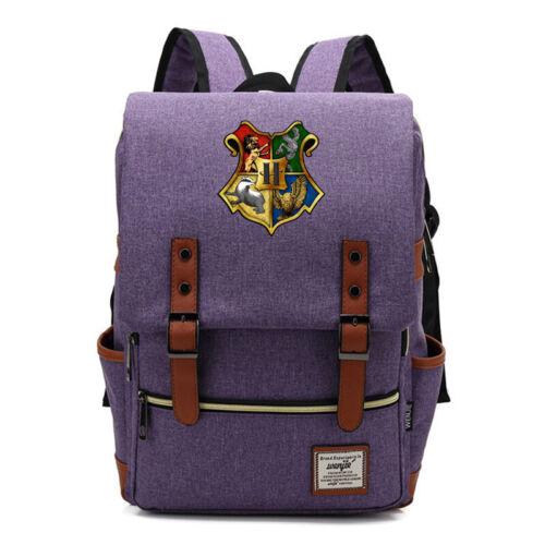 Harry Potter Backpack Teens Schoolbag Nylon Leisure Sport Backpack Travel Bag