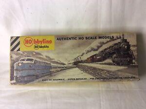 Rare Vintage Hobbyline K-81 K-82 Alcoa Kit Trémie Et Caboose