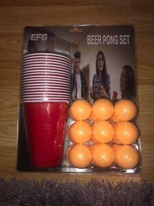Entièrement Neuf Sous Emballage Beer Pong Set-afficher Le Titre D'origine