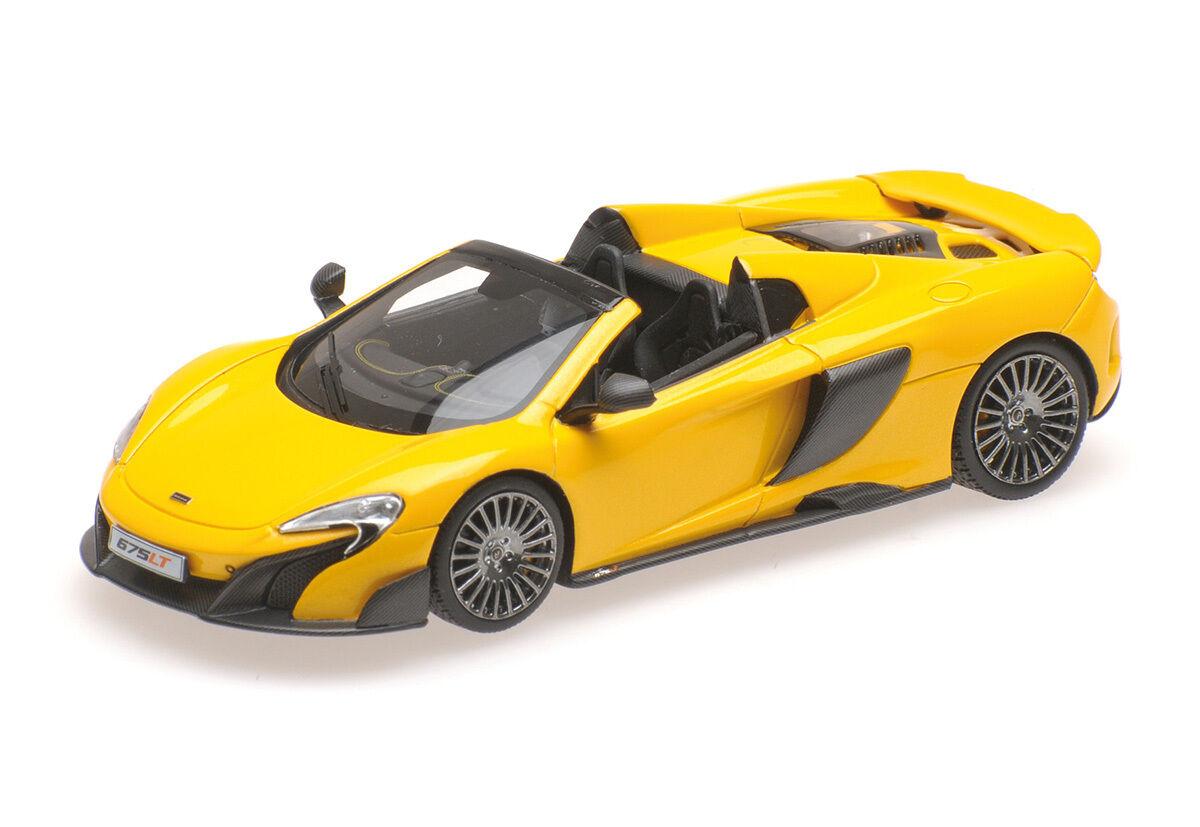 537154430 - Minichamps McLaren 675lt SPIDER-Volcano giallo - 1 43